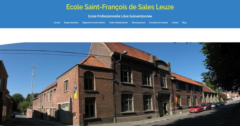 Site Saint-François Leuze